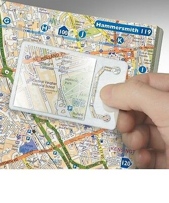 Credit Card MAGNIFIER. Ideal for reading, enlarging text from books, maps ect.