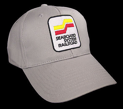 Seaboard System Railway Railroad Embroidered Cap #40-4620G