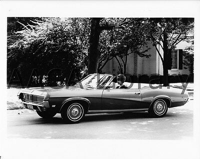 1969 Mercury Cougar Convertible Coupe, Factory Photo (Ref. #57041)