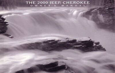 2000 Jeep Cherokee Owners Manual User Guide