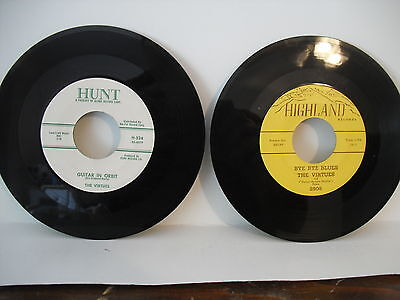 2 for 1 price,The Virtues, Guitar Boogie Shuffle -Hunt + Bye Bye Blues- Highland