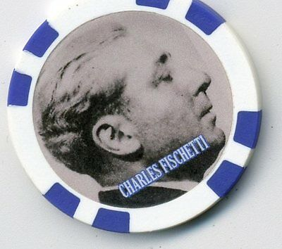 Charles Fischetti  Gangster  Collector Chip