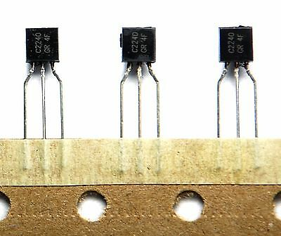 20pcs NPN Transistor Low Noise Audio 2SC2240 GR C2240 TO-92 Toshiba