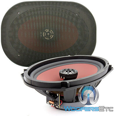 "*MADE IN GERMANY* BRAND NEW BULK PACK DKF-169 MB QUART 6"" x 9"" COAXIAL SPEAKERS"