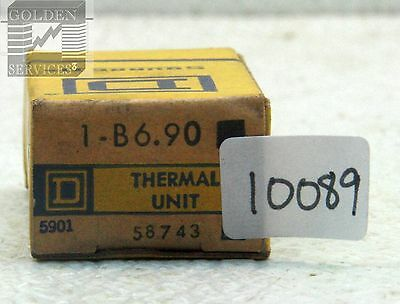 Square D B6.90 Overload Relay Thermal Unit