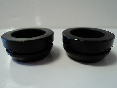 Rubber Breather Grommets For Aluminum Valve Covers (2) SBC BBC SBF 302 350 454