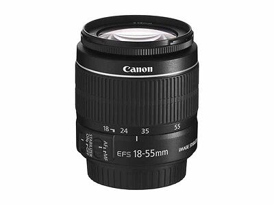 Canon EF-S 18-55mm F/3.5-5.6 II IS  Lens (White Box) Brand New, Ships from USA