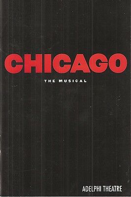 Chicago - London Adelphi Theatre Programme