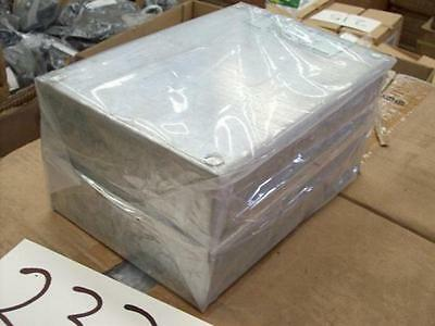 "Galvanised Adaptable Steel Box 9x6x2"" Electrical Enclosure 230x150x50mm Cabinet"