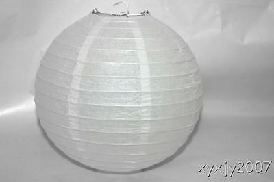 """6 White Chinese  Paper Lanterns 10"""" For Wedding or Party"""