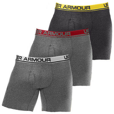 "Under Armour UA 6"" Boxer Jock Briefs Mens Golf Underwear"