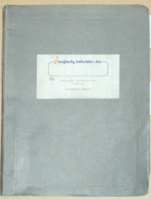 Dougherty Industries Auto Code Software for Autocad Reference Manual 1994