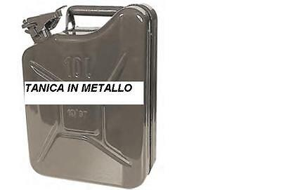 TANICA IN METALLO 5 LT PER Carburante BENZINA GASOLIO VERDE