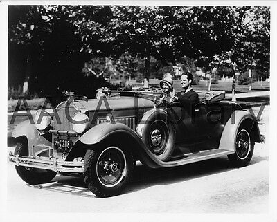 Factory Photo Ref. #61703 1931 Packard Model 840 Waterhouse Convertible Coupe