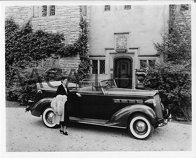 1937 Packard 120 Convertible Coupe, Factory Photo (Ref. #61822)