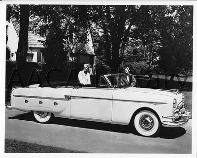 1953 Packard Convertible Coupe, Factory Photo (Ref. #62086)
