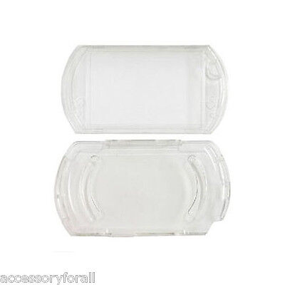 Protector Clear Crystal Travel Carry Hard Case Cover Skin Pouch for Sony PSP Go