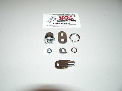 VENDSTAR 3000 #2222 BACK DOOR LOCK & KEY - New / Free Ship!