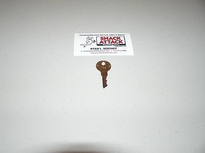 VENDSTAR 3000 TOP LID DOOR KEY #159 New (OEM) / Free Ship!