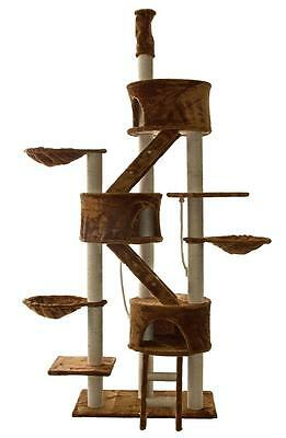 Cat Tree House Toy Bed Scratcher Post Furniture FC09