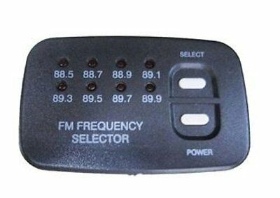 2003-09 Hummer H2 GM Factory DVD FM Frequency Selector