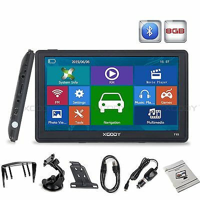 """New 7"""" Built-in 4GB Car GPS Navigation Navigator USA Canada Mexico All US Maps"""