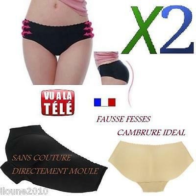Culotte Push Up Remonte Fesse Fausse Fesse Galbe Les Fesses Cambrure Ideal Neuf