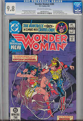 Wonder Woman #289 CGC 9.8 1982 with Captain Wonder, Doctor Psycho Price Drop!