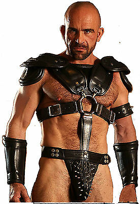 Leather Roman Gladiator Set Larp Steampunk Samurai Armor Armour
