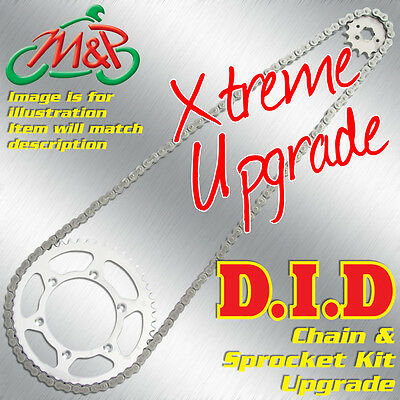 Ducati 944 ST2 ST3 2000 Extreme Upgrade DID Chain and Sprocket Kit