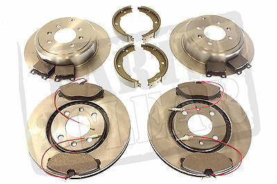 Rear Solid Brake Discs Peugeot 307 2.0 HDI 135 Hatchback 2003-08 136HP 246.7mm