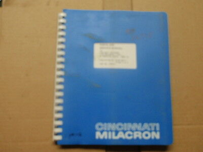 Cincinnati Parts and Service Manual 23-MC-86171_1986_Volume 2 of 2_PN 3359371