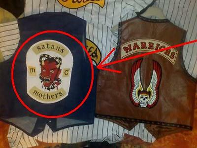 Fancy Dress Halloween Party Movie Warriors Prop Gang Patch: Satans Mothers