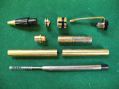 Woodturning CLASSIC Twist Pen Kit in Gold