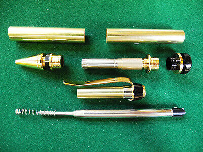 Woodturning CIGAR Ball Point Kit in Gold