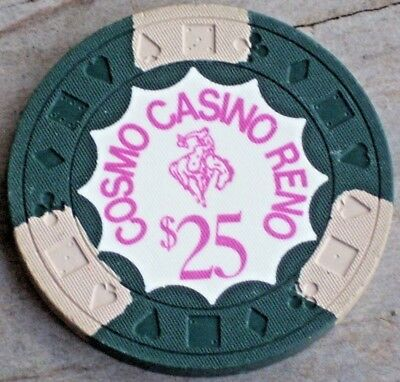 $25 3Rd Edt Chip From The Cosmo Casino Reno Nv