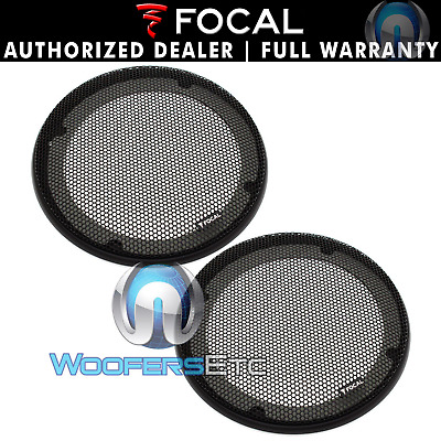 """2 Focal 6.5"""" Speaker Coaxial Component Protective Grills Covers Only New Pair"""