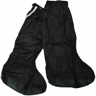 Bike It Motorbike Motorcycle Rain Reflective Waterproof Over Boots Overboots