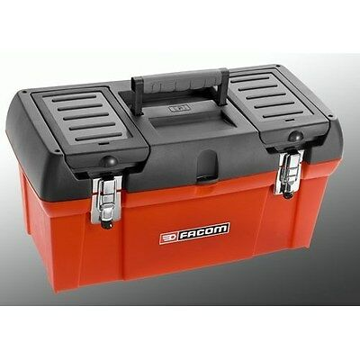 "FACOM LARGE 19"" PRO TOOL BOX with parts storage in lid BP.C19PB"