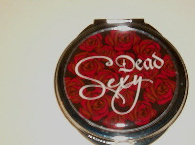 DOUBLE MIRROR COMPACT   DEAD SEXY    GREAT FOR HALLOWEEN!  H3