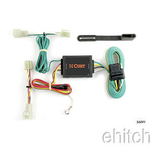 curt custom vehicle to trailer wiring harness 55382 for 2002 2007 rh picclick com