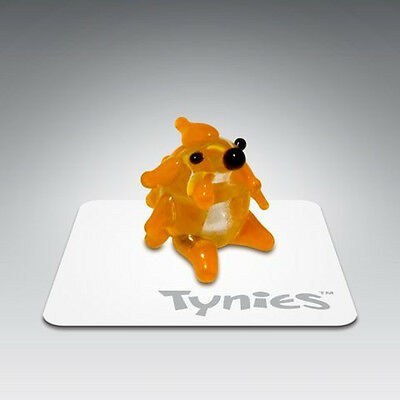 SID YELLOW HEDGEHOG TYNIES Tiny Glass Figure Figurines Collectibles NEW 005