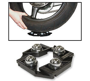 Motorcycle Motorbike Wheel Spin Chain Cleaning Stand Easy Roller Spinner
