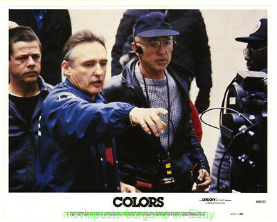 COLORS LOBBY CARD size 11x14 MOVIE POSTER Card #2 DENNIS HOPPER 1988