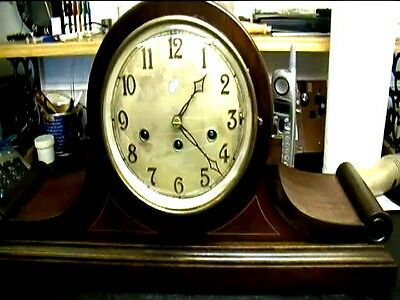 Clock Repair DVD Video - Junghans Mantel Clock Repair Franklin 2810 2333 704 160