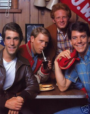 The Cast of Happy Days, 8x10 Color Photo