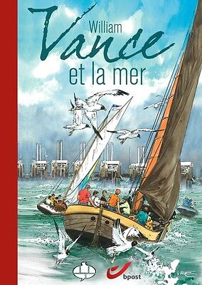 Bd Eo N° William Vance & La Mer Tirage Luxe + Timbre + Calendrier + Planche