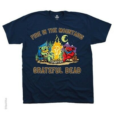 New GRATEFUL DEAD Fire In The Mountains T Shirt