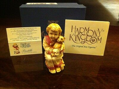 Harmony Kingdom Royal Collector Pastille Child Porcelain Figurine Mib Angel