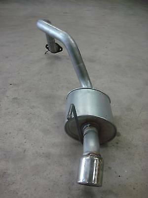 Ssangyong Rexton 2.7 D Rear Exhaust Silencer C/w Chrome Tail Pipe Trim 04-